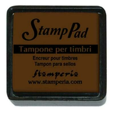 Stamperia Small Pigment Stamp Pad - Brown