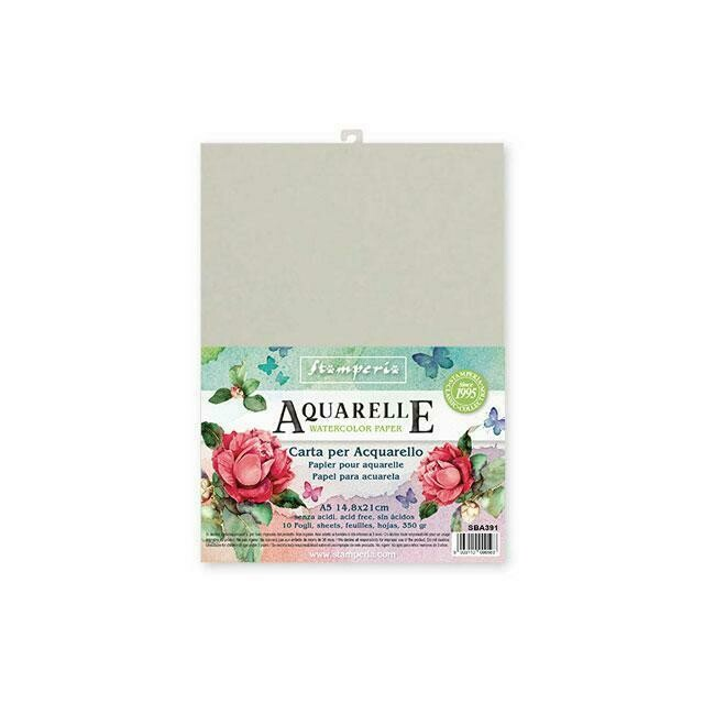 Stamperia Aquarelle Watercolour Paper A5