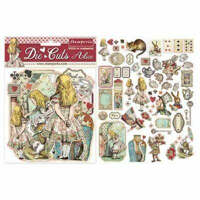 Stamperia Die Cuts - Alice