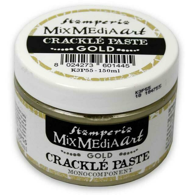 Crackle Paste - Gold 150ml