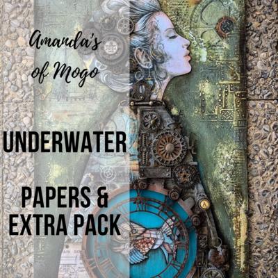 Antonis Tzanidakis' Underwater - Paper & Extras Pack