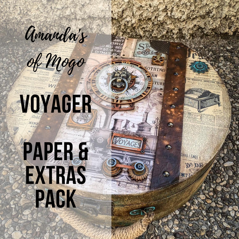 Antonis Tzanidakis' Voyager - Paper & Extras Pack