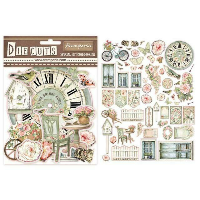 Stamperia Die Cuts - House of Roses