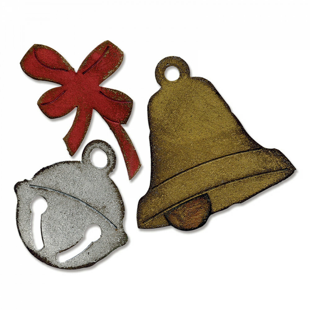Sizzix Dies By Tim Holtz - Christmas Bells