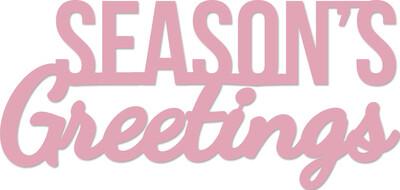 Kaisercraft Die - Season's Greetings