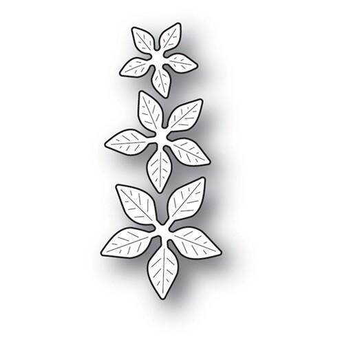 Poppystamps Die - Poinsettia Mini