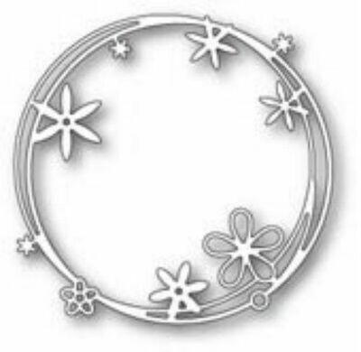 Poppystamps Die - Scribble Flower Circle