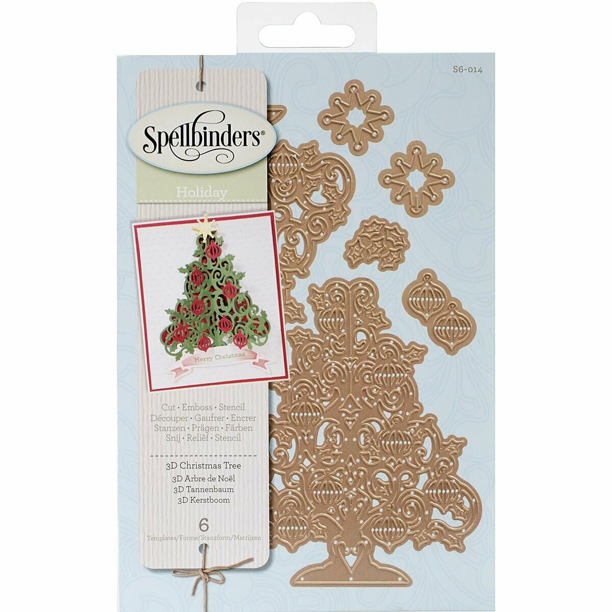 Spellbinder Dies - 3D Christmas Tree