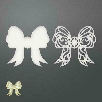 Couture Creations Dies - Ornate Layered Bow