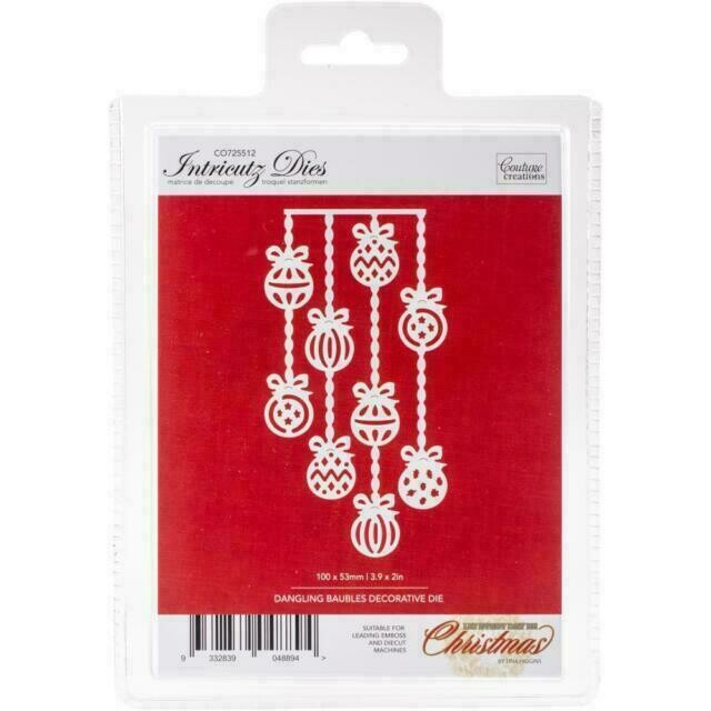 Couture Creations Dies - Dangling Baubles