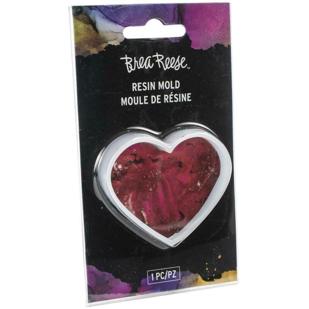 Brea Reese Resin Mould - Heart