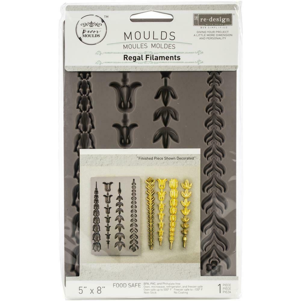 """Prima Marketing Re-Design Mould 5""""X8""""X8mm - Regal Filaments"""