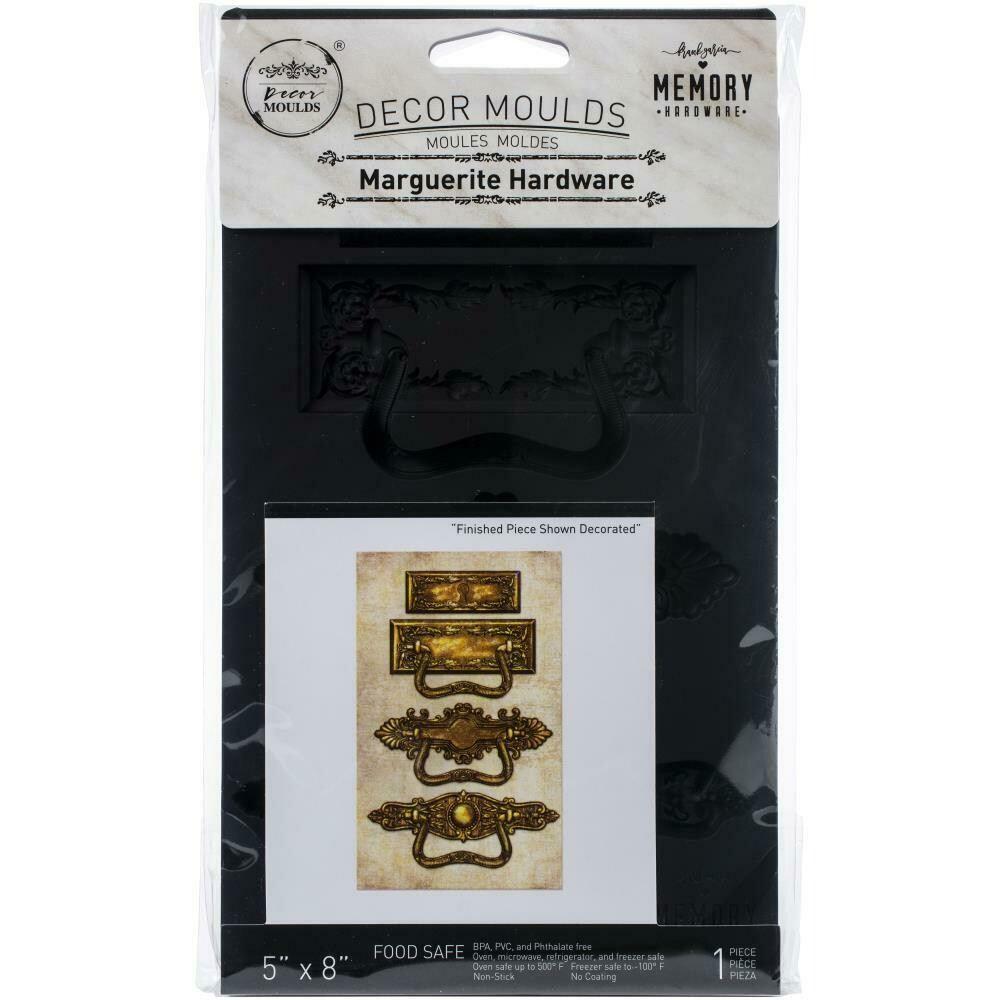 "Prima Marketing Re-Design Mould 5""X8""X8mm - Marguerite Hardware"