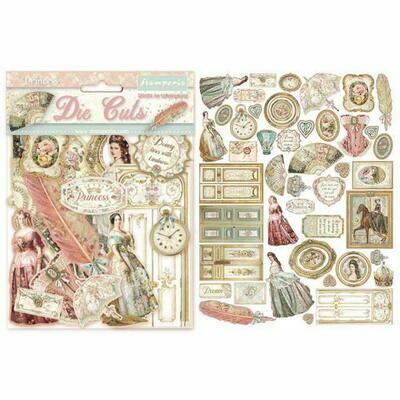 Stamperia Die Cuts - Princess