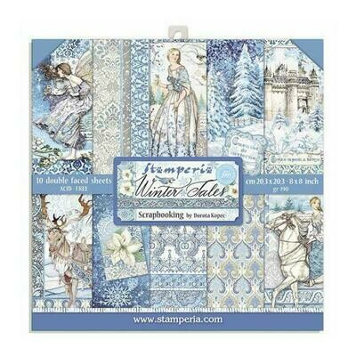 Winter Tales - Stamperia Double-sided Paper Pad 8