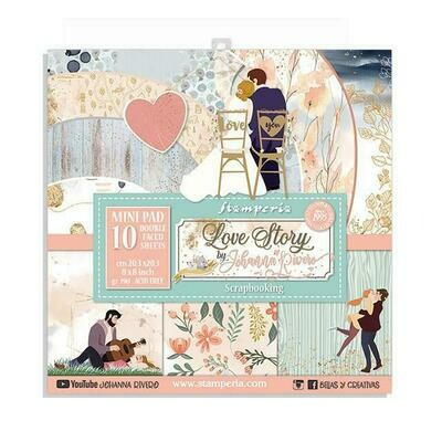 Love Story - Stamperia Double-sided Paper Pad 8