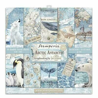 Arctic Antarctic - Stamperia Double-sided Paper Pad 12
