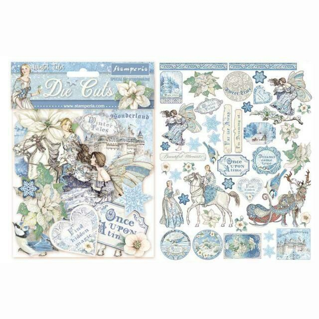 Stamperia Die Cuts - Winter Tales