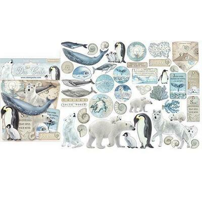 *PRE-ORDER* Stamperia Die Cuts - Arctic Antarctic