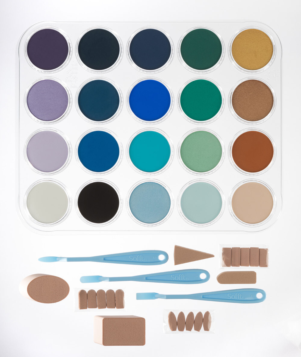 PanPastel - Joanne Barby Seascape Painting Set (20 Colours)