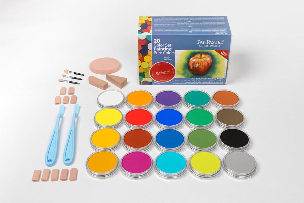PanPastel - Pure Colours/Painting (20 Colour Set)