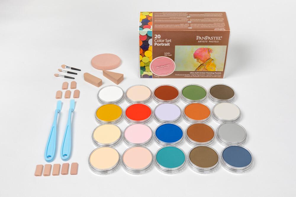 PanPastel - Portrait (20 Colour Set)