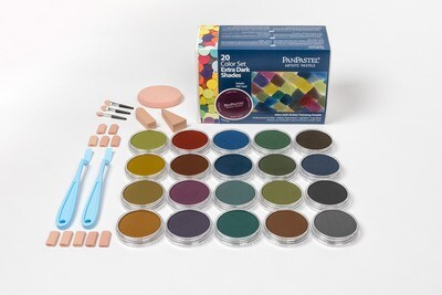 PanPastel - Extra Dark Shades (20 Colour Set)