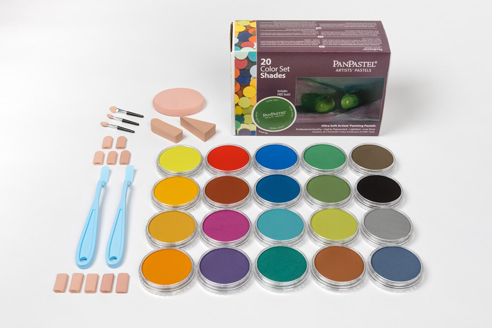 PanPastel - Shades (20 Colour Set)