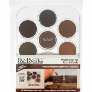 PanPastel - Weathering Kit - Rust & Earth (7 colours)