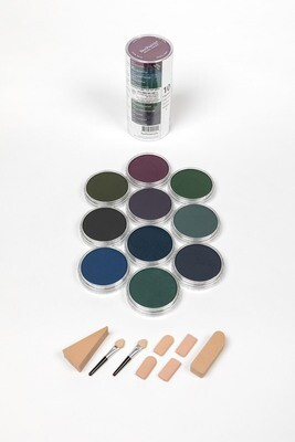 PanPastel - Extra Dark Shades - Cool (10 colours)
