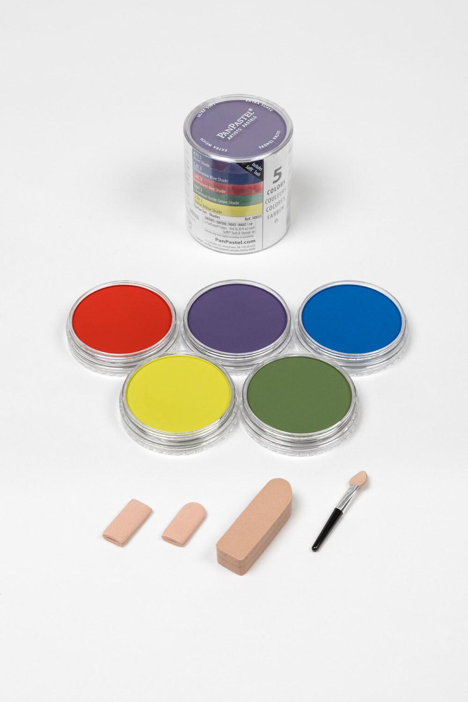 PanPastel - Starter Set - Shades (5 Colour)