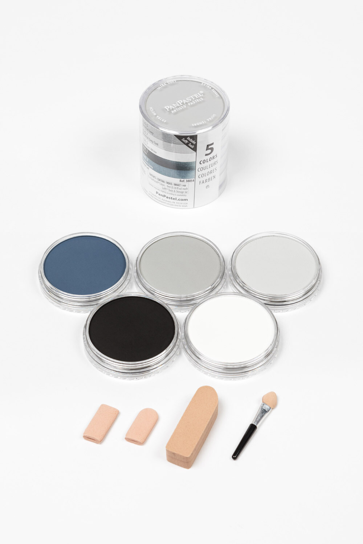 PanPastel - Greys (5 Colour)