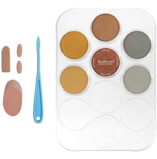 PanPastel - Metallics (6 Colour Kit)