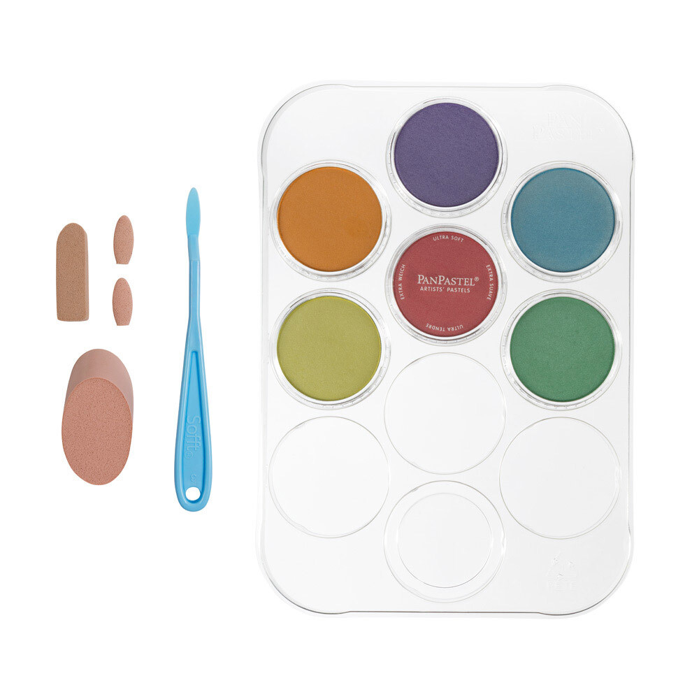 PanPastel - Pearlescents (6 Colour Kit)
