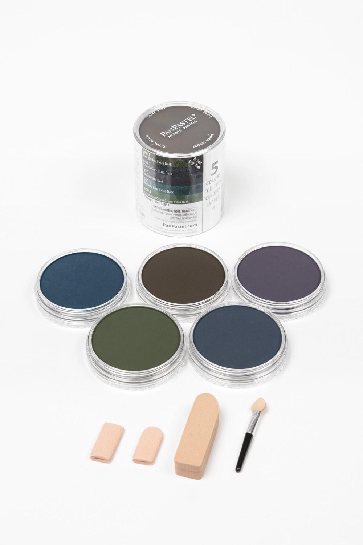 PanPastel - Extra Dark Shades - Shadows (5 Colour)