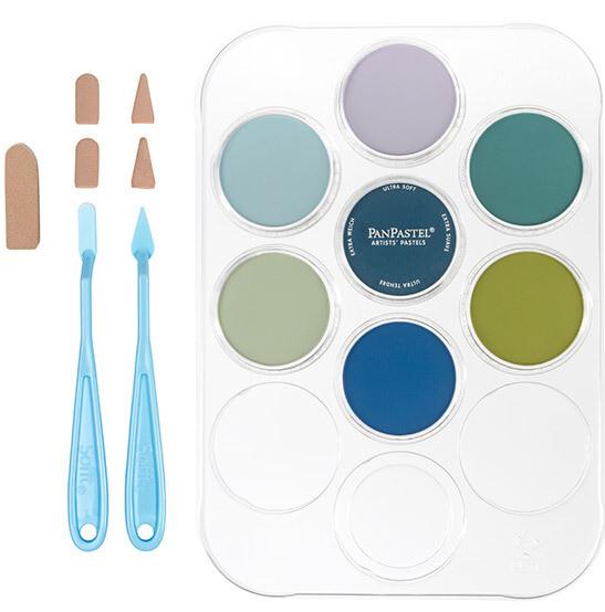PanPastel - Susan's Garden Flower Colouring Kit No. 2 (7 Colours)