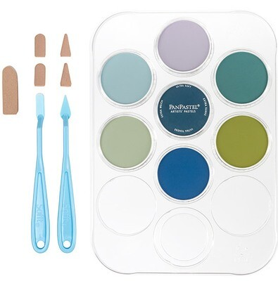 PanPastel - Susan's Garden Flower Colouring Kit No. 2 (7 Colours)