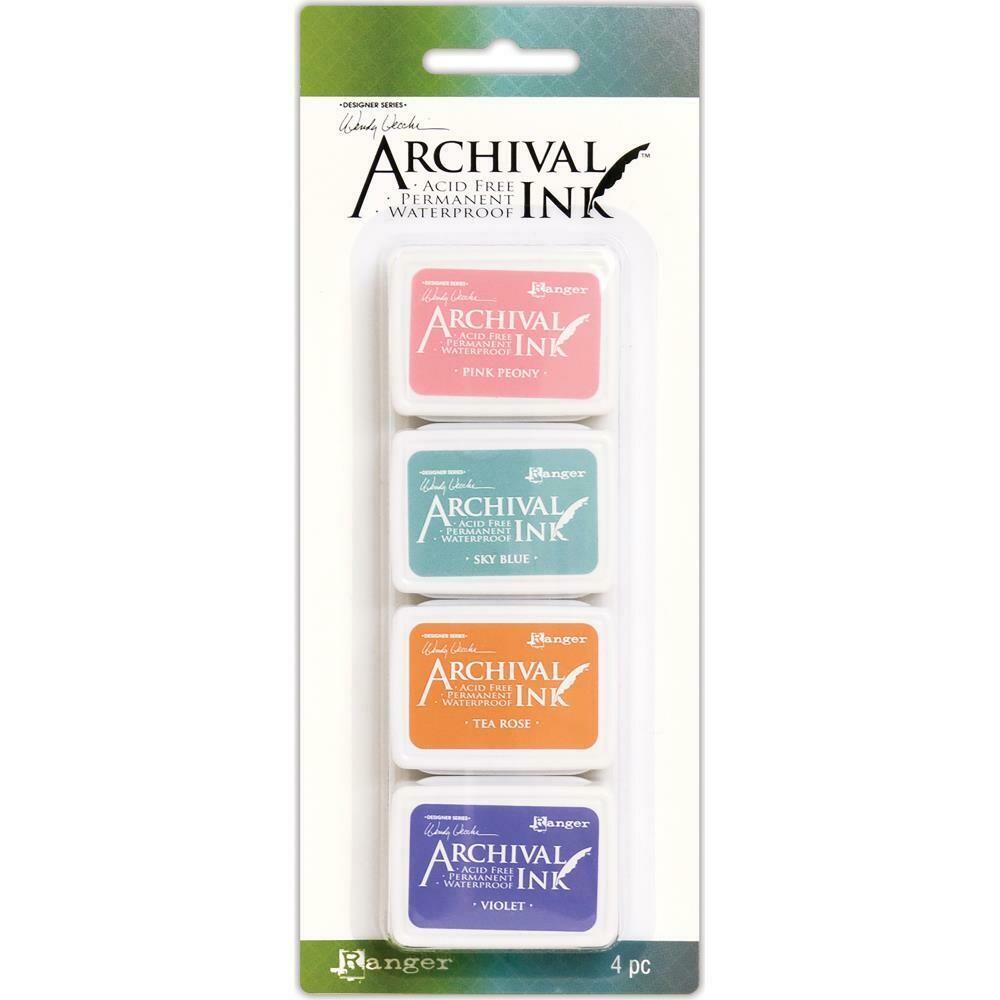 Wendy Vecchi Mini Archival Ink Pads - Set 3