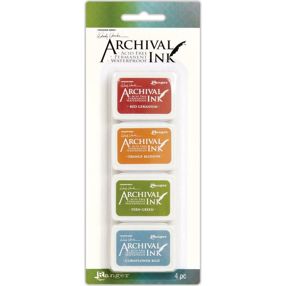 Wendy Vecchi Mini Archival Ink Pads - Set 4