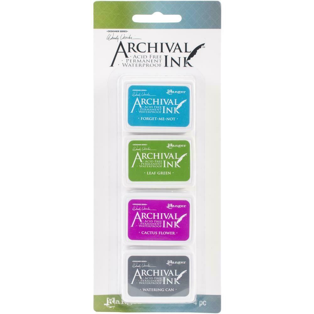 Wendy Vecchi Mini Archival Ink Pads - Set 2