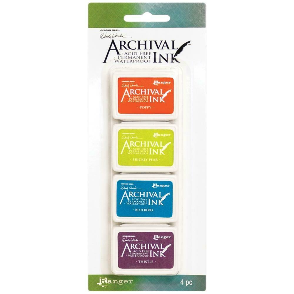 Wendy Vecchi Mini Archival Ink Pads - Set 6