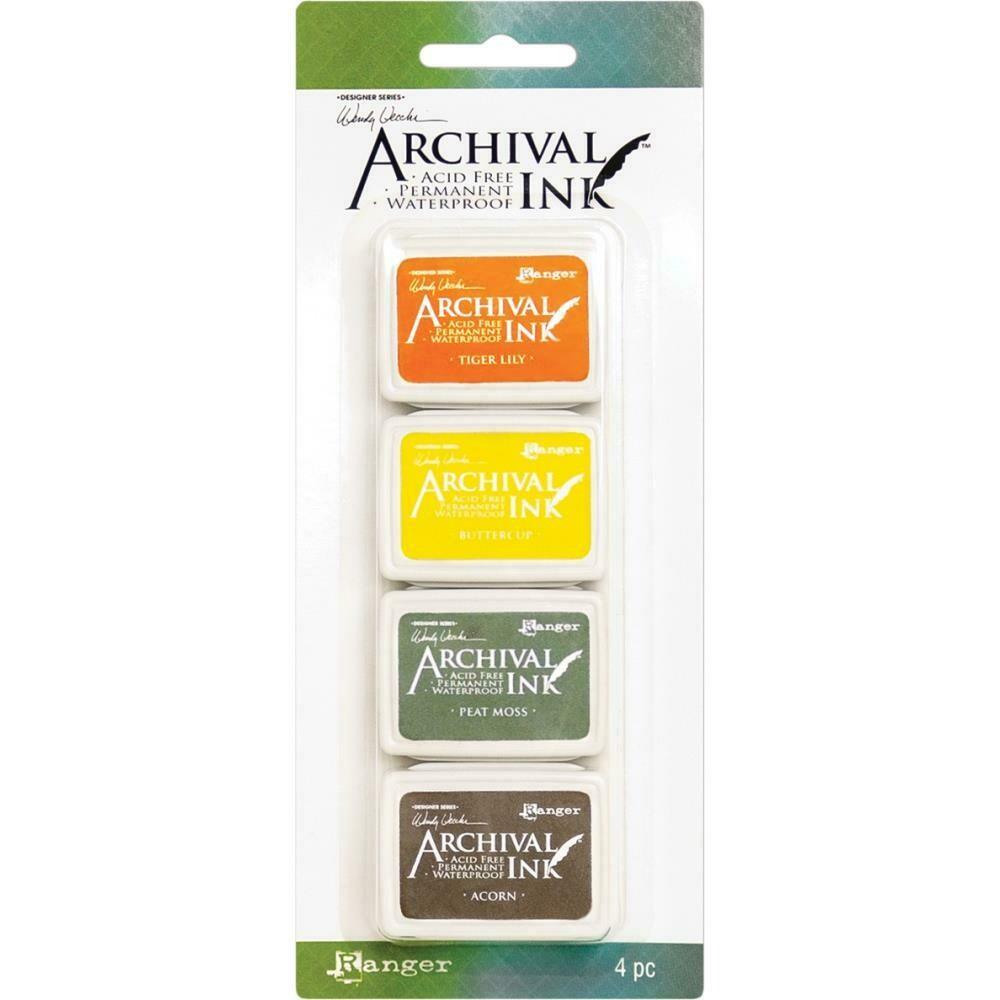 Wendy Vecchi Mini Archival Ink Pads - Set 5