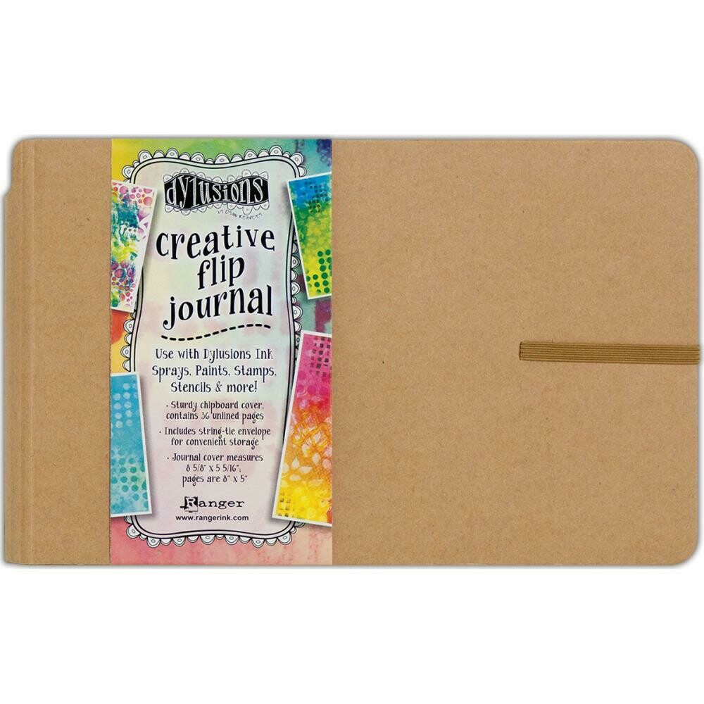 "Dyan Reaveley's Dylusions Creative Flip Journal 8.5"" X 5.5"""
