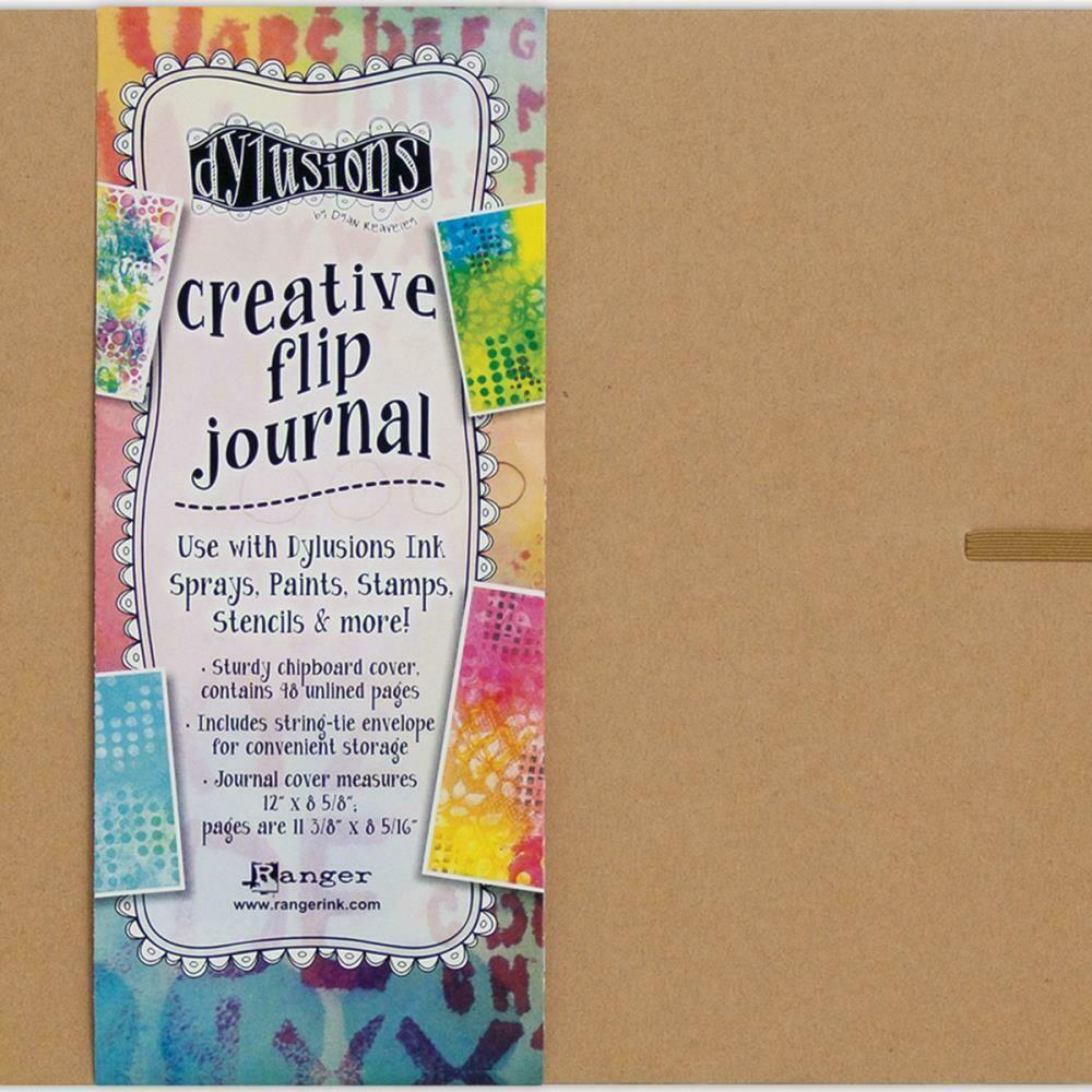 "Dyan Reaveley's Dylusions Creative Flip Journal 12""X8.5"""