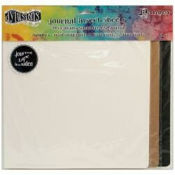 "Dyan Reaveley's Dylusions Journal Inserts Assortment 12/Pkg 8.25"" X 8.25"""