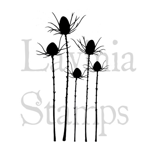 Lavinia Stamps - Silhouette Thistles