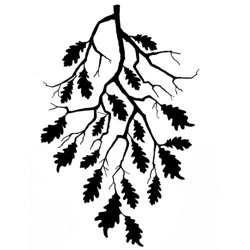 Lavinia Stamps - Oak Leaf Branch