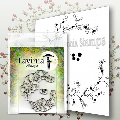 Lavinia Stamps - Berry Wreath with Mini Berries
