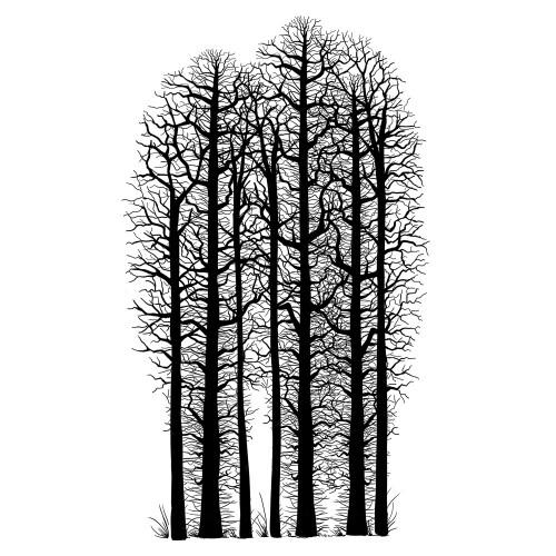Lavinia Stamps - Forest Scene