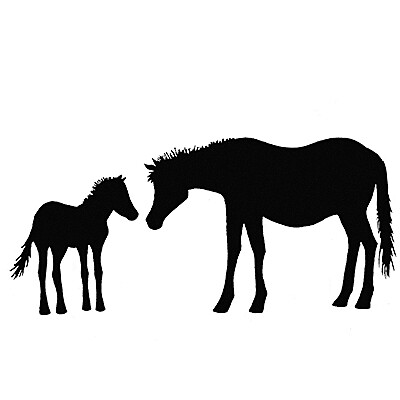 Lavinia Stamps - Horse & Foal